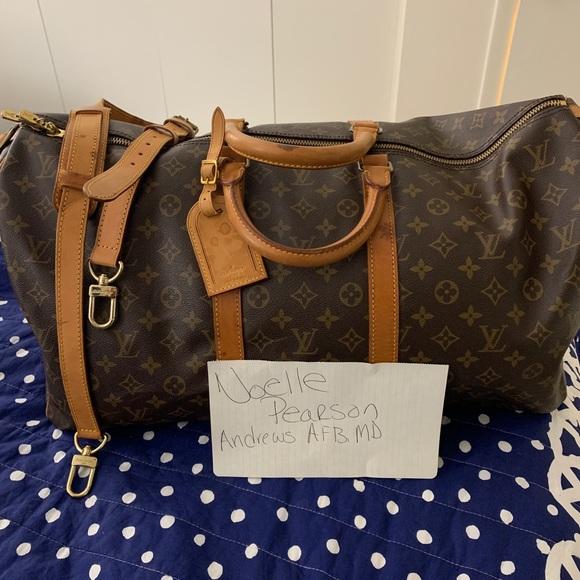 5fd09a8b54ea Louis Vuitton Handbags - LOUIS VUITTON KEEPALL BANDOULIÈRE 55